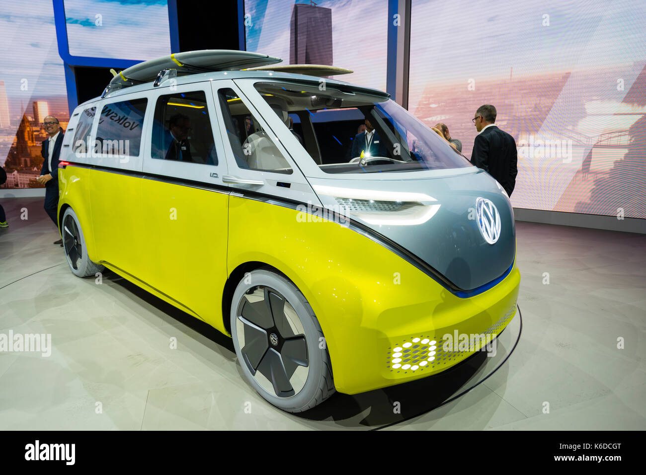 Frankfurt, Germany. , . Frankfurt Motor Show 2017 press day previewing latest vehicles at world's largest motor - Stock Image