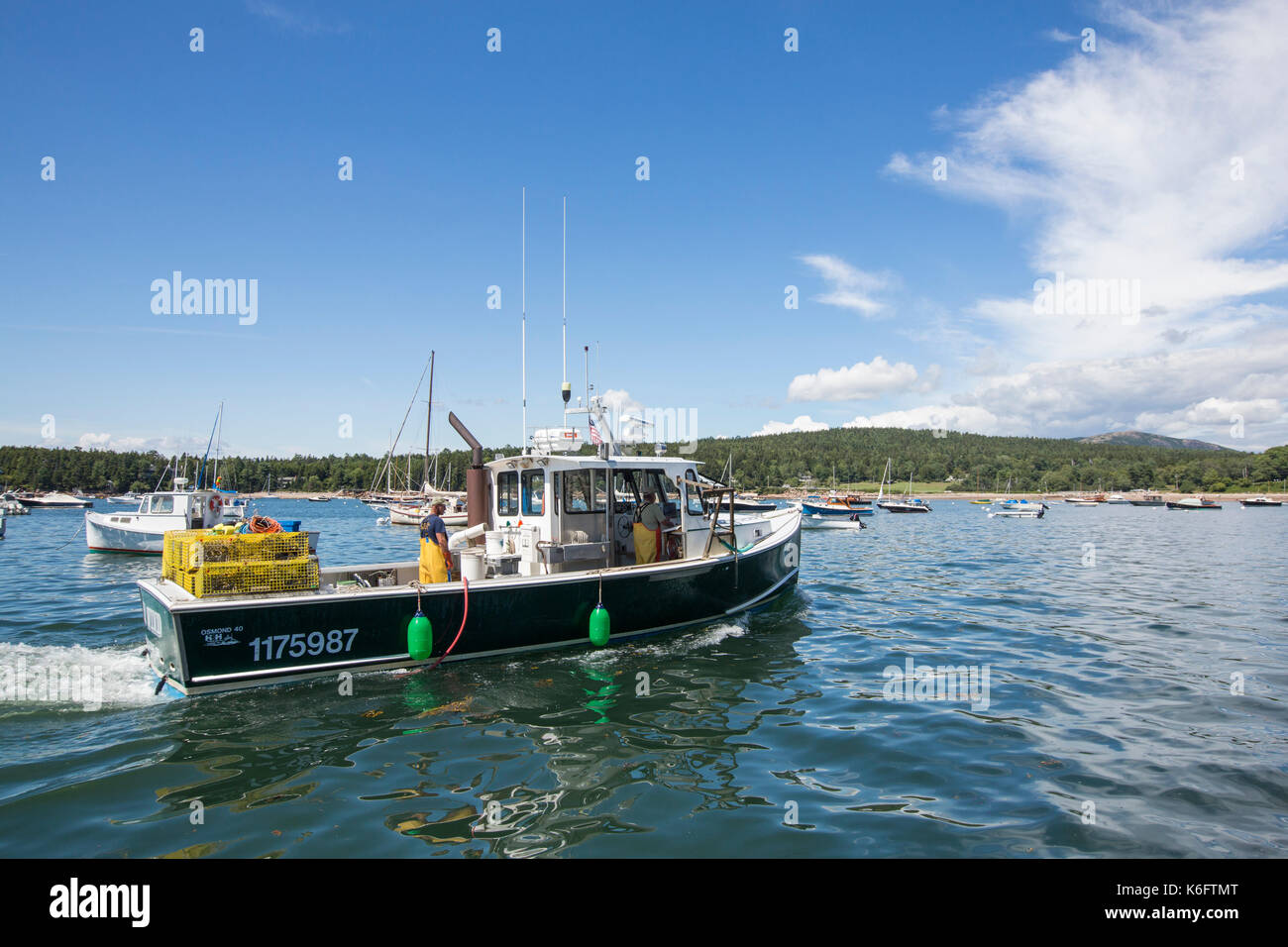 maine fishing boat stock photos maine fishing boat stock