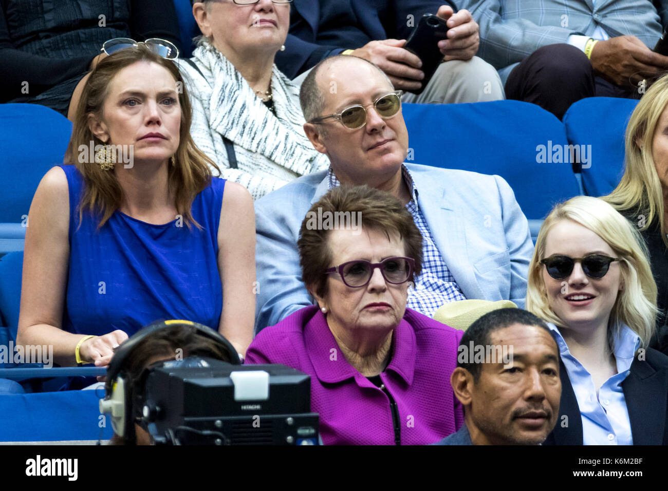 James Spader attend the 2017 US Open Women's Final - Stock Image