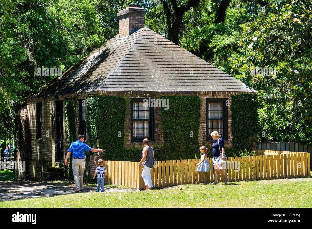 Charleston South Carolina SC Middleton Place National Historic Landmark Ashley River rice plantation antebellum - Stock Image