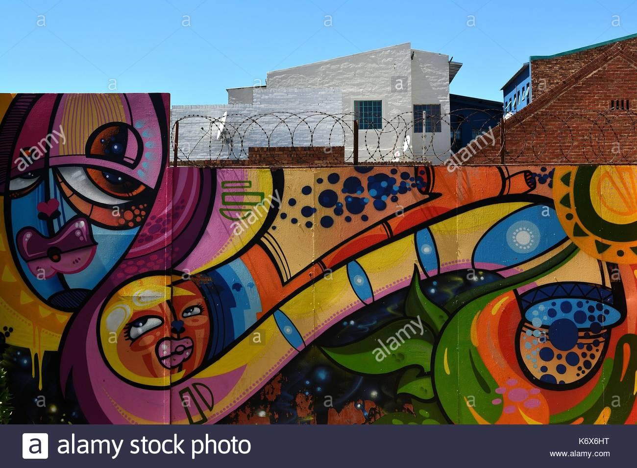 South Africa, Gauteng, Johannesburg, Maboneng - Stock Image