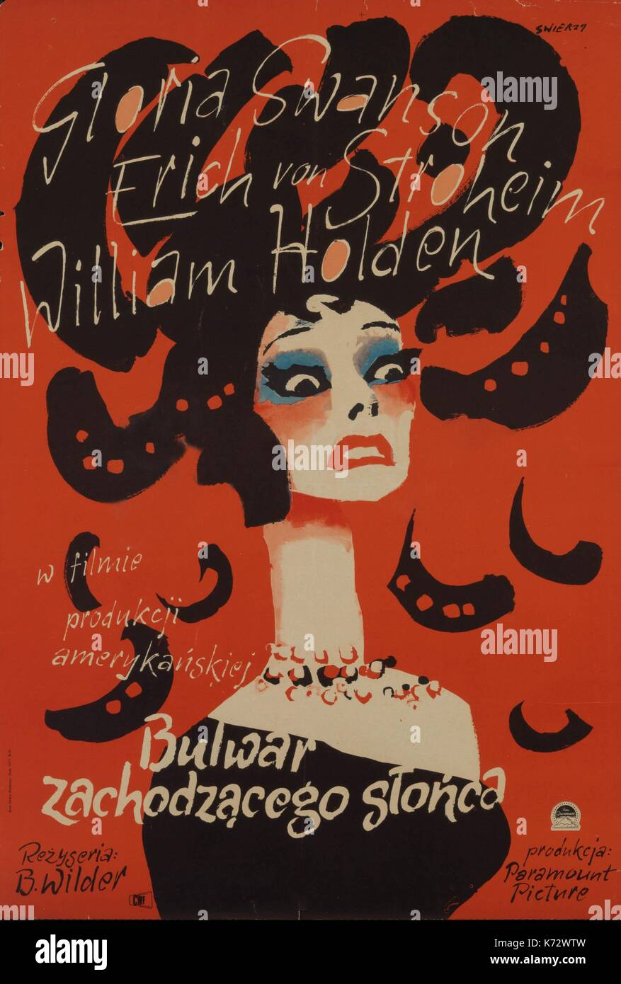 sunset boulevard by billy wilder a Originally planning to become a lawyer, billy wilder abandoned that career in favor of working as a born: june 22, 1906 sunset boulevard writer.