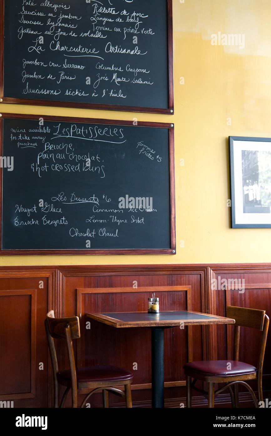 Cafe K New York City Menu
