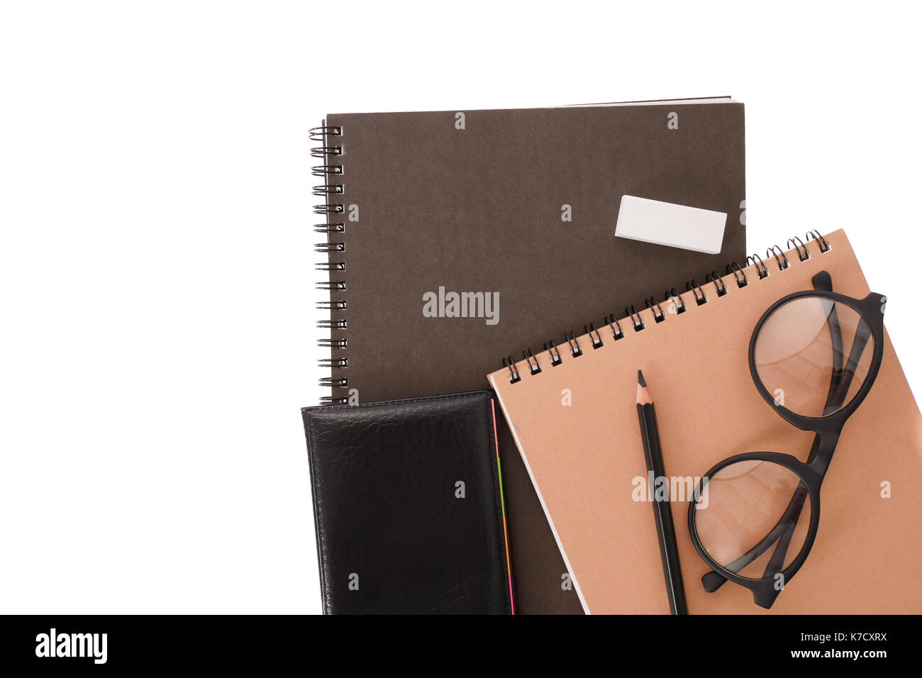Black Book Cover Images : Black book cover white background stock photos