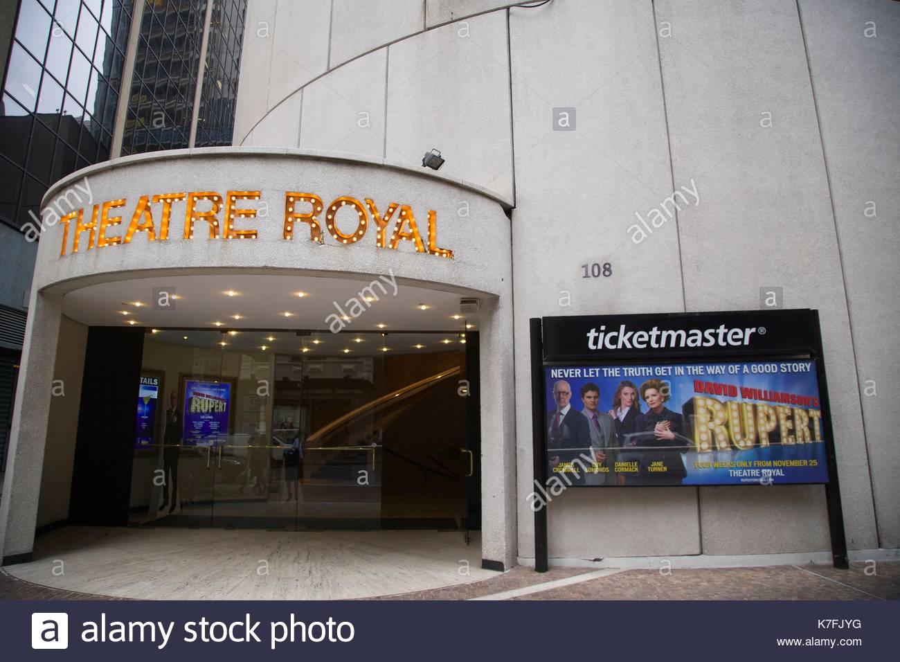 theatre royal sydney stock photos theatre royal sydney. Black Bedroom Furniture Sets. Home Design Ideas