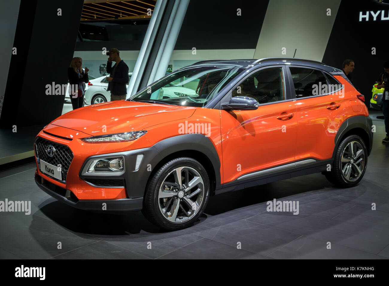 suv hyundai kona stock photos suv hyundai kona stock images alamy. Black Bedroom Furniture Sets. Home Design Ideas