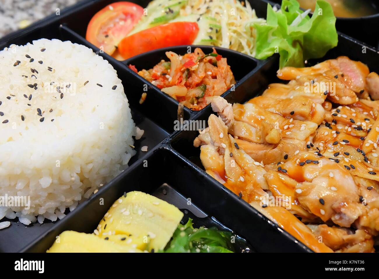 Bento box japan stock photos bento box japan stock for Ancient japanese cuisine
