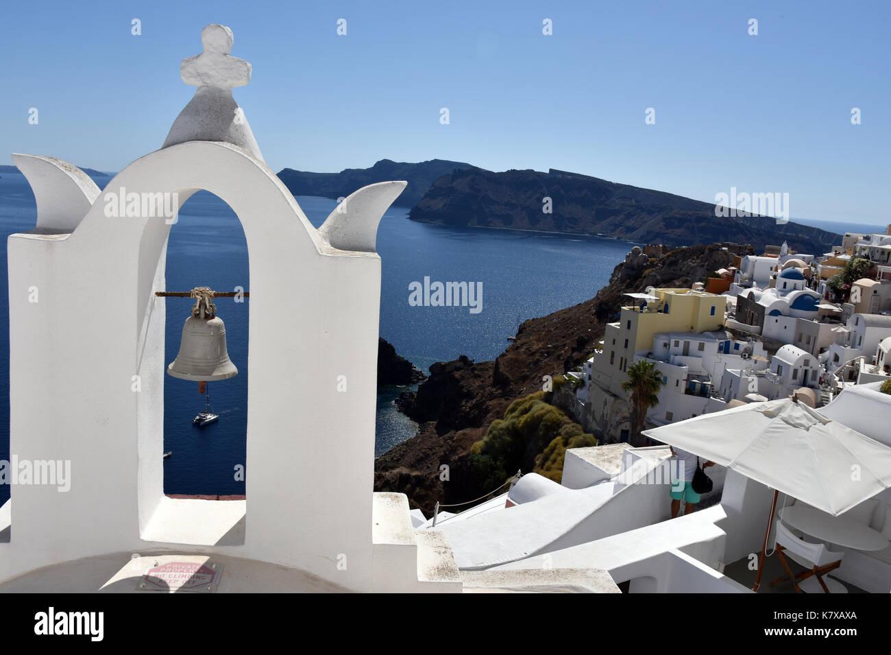 Oia - Santorini _ Greece - Stock Image