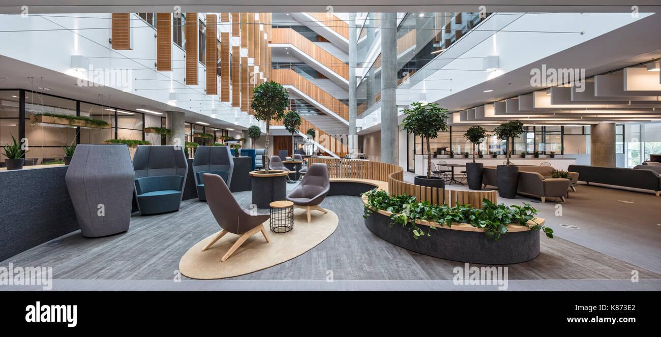 Commercial Office Atrium Area Stock Photos Amp Commercial