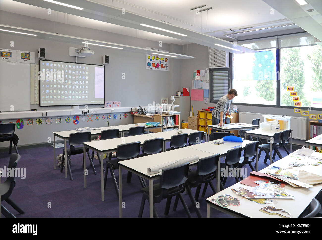 Traditional And Modern Classroom Management : Traditional art school stock photos