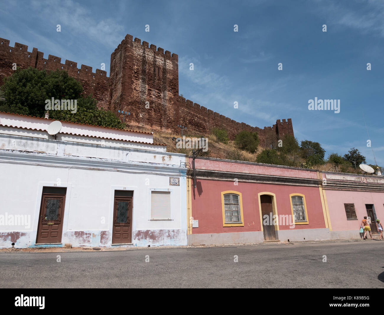 Silves  Portugal - Stock Image