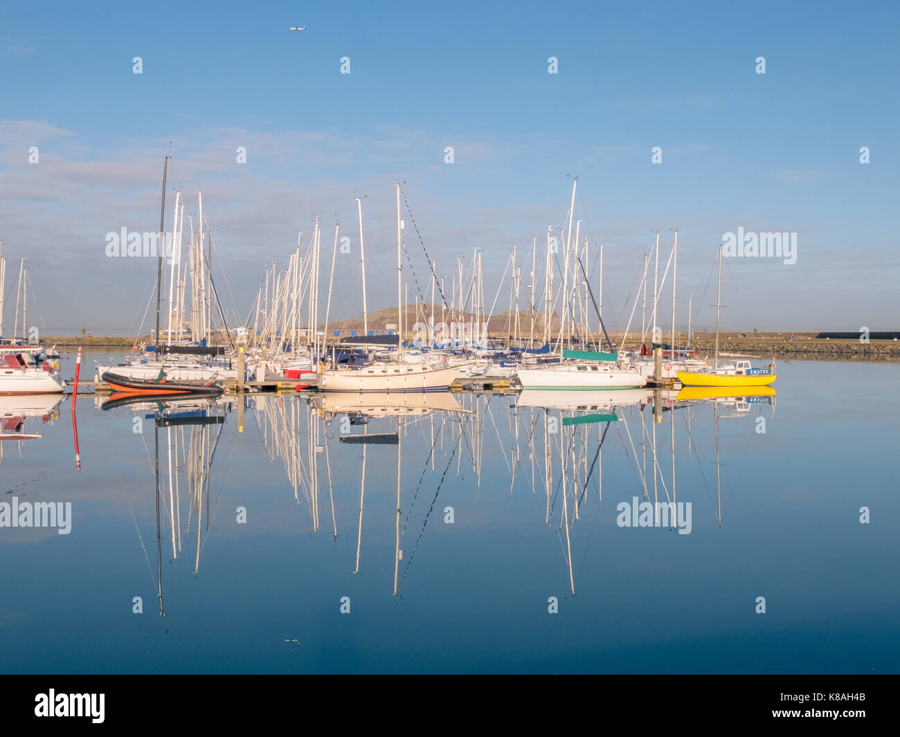 Howth Harbour - Ireland - Stock Image
