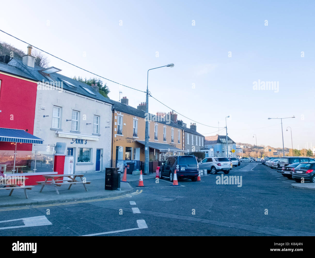 Howth town - Dublin, Ireland - Stock Image