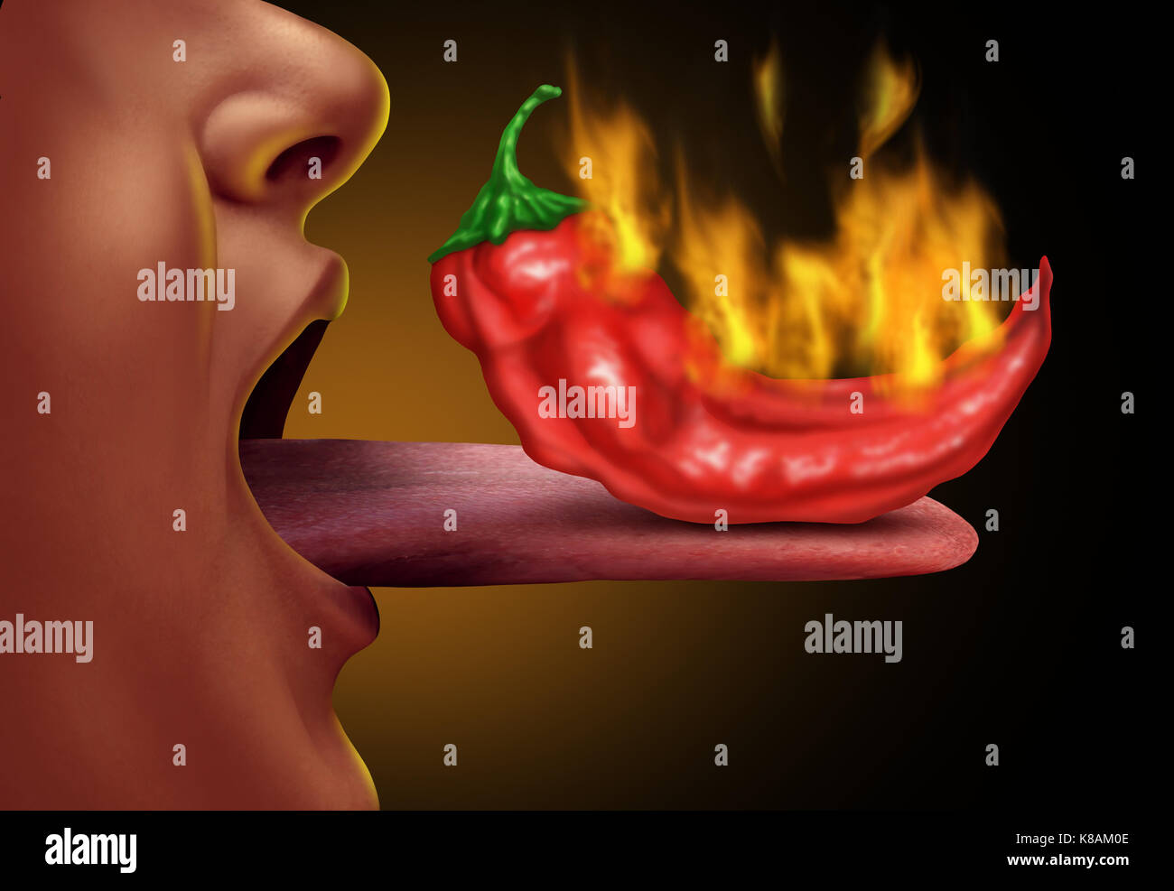 how to stop tongue hot food