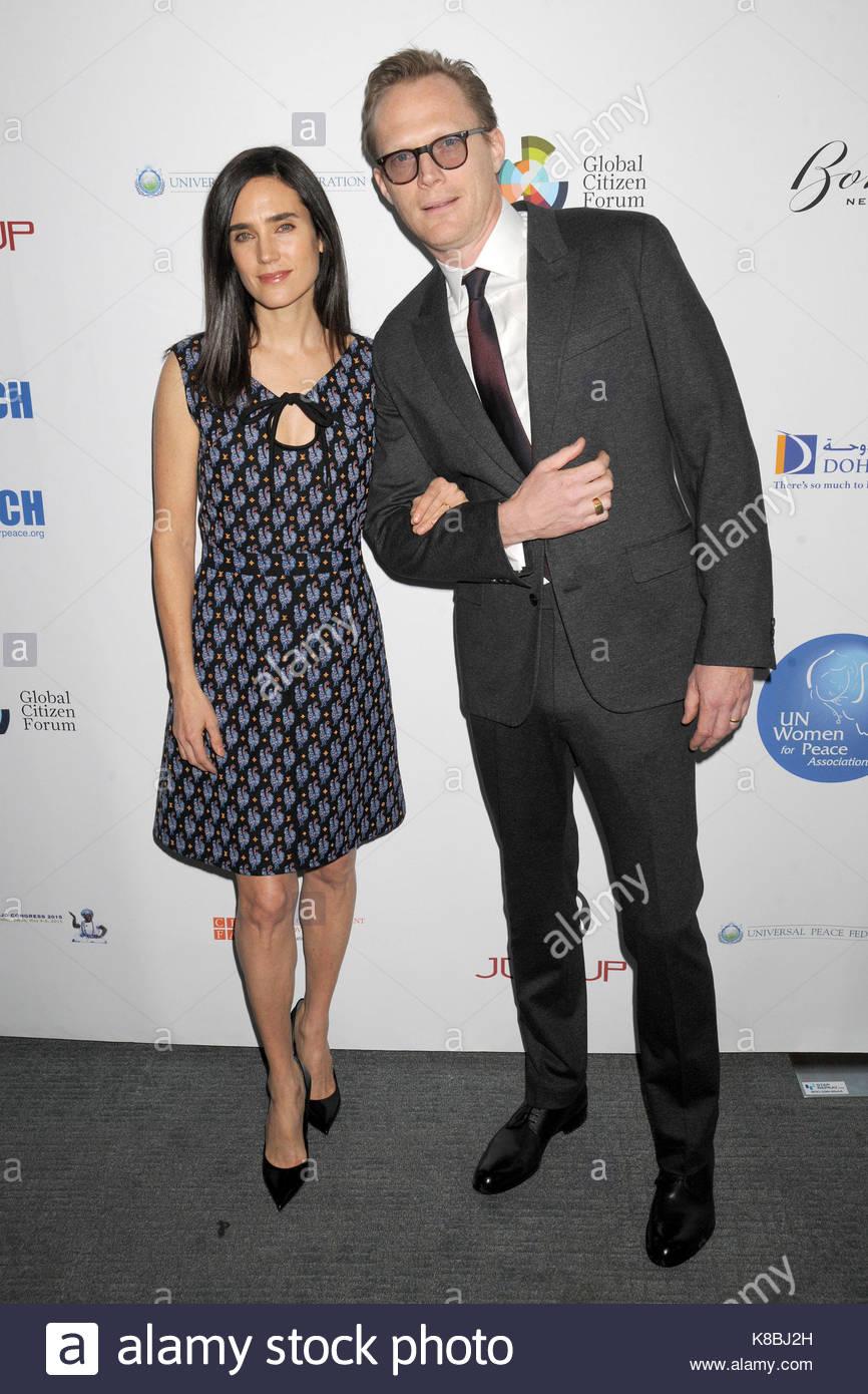 Actor Paul Bettany Wife Actress Stock Photos Amp Actor Paul