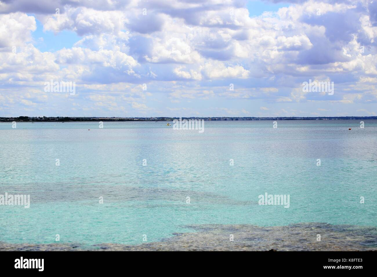 Sea view - Stock Image