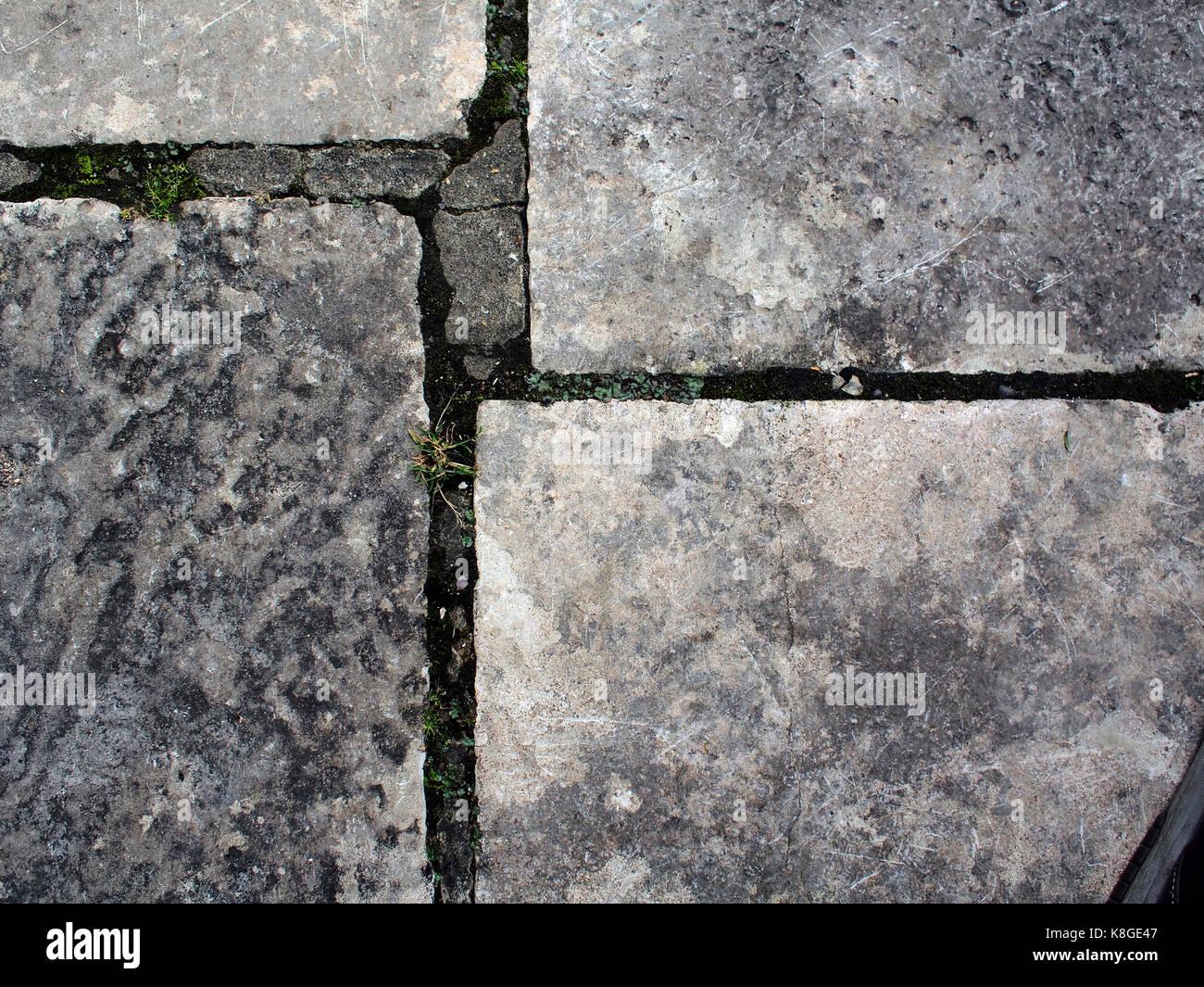 Detail Stone Slabs : Paving stone path stock photos
