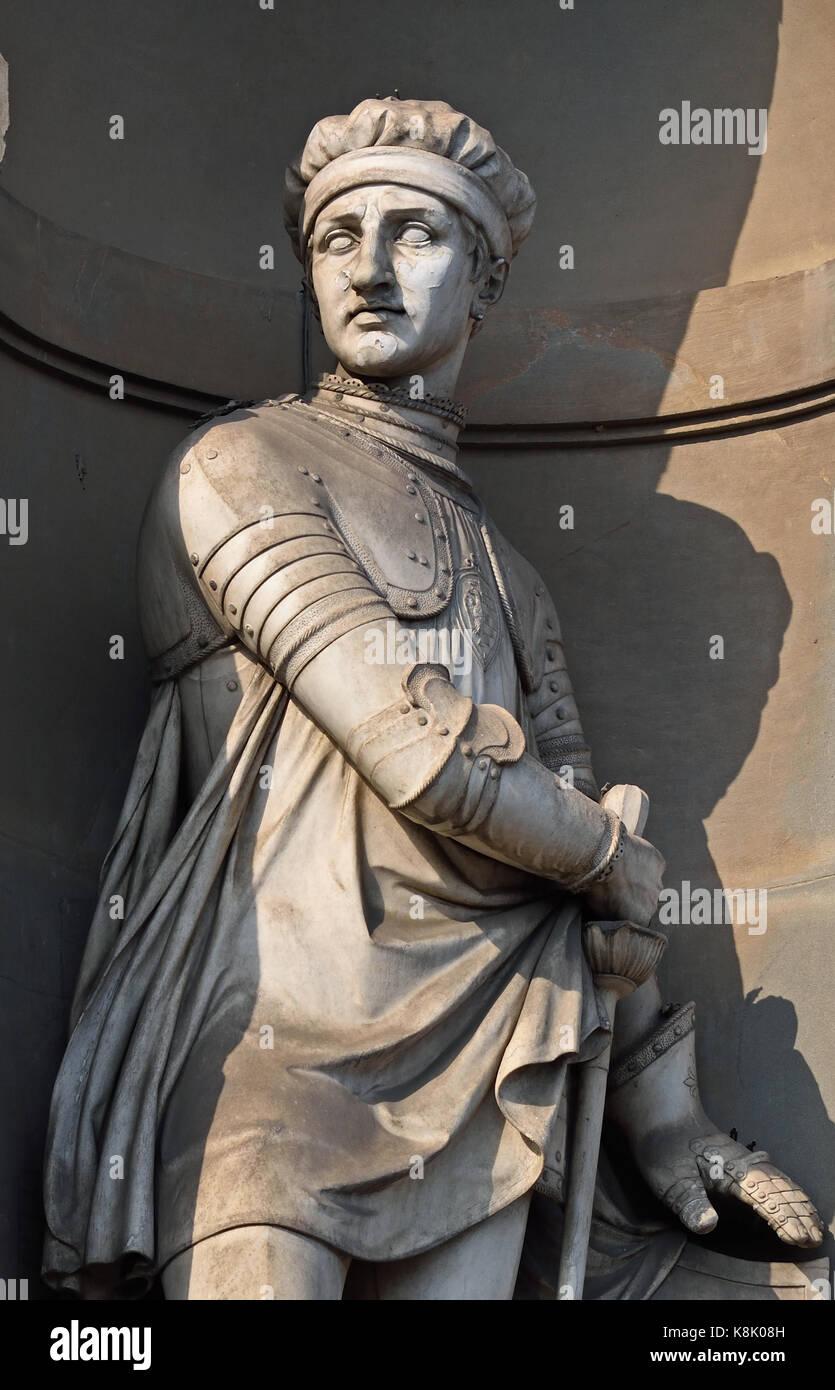 Farinata Degli 1212 –1264 ( real name Manente Degli Uberti ( aristocrat and military leader, considered by some - Stock Image
