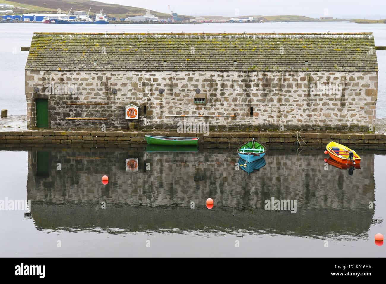 Hays Dock, Shetland Museum and Archives, Lerwick, Shetland Islands, Scotland, UK - Stock Image