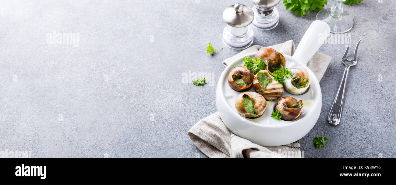 Plate Of Snails Stock Photos & Plate Of Snails Stock ...
