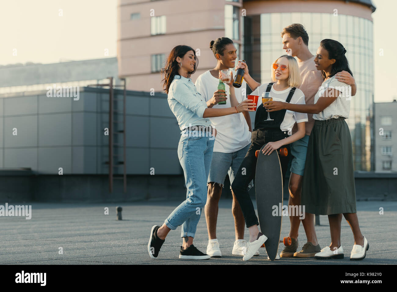 Group Of People Drinking Alcohol Stock Photos & Group Of ...