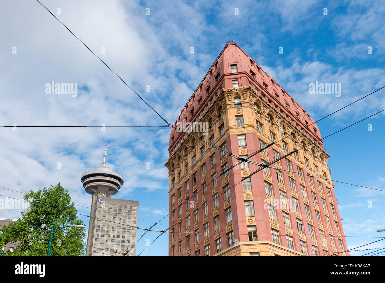 Vancouver gastown district stock photos vancouver for Building a lookout tower