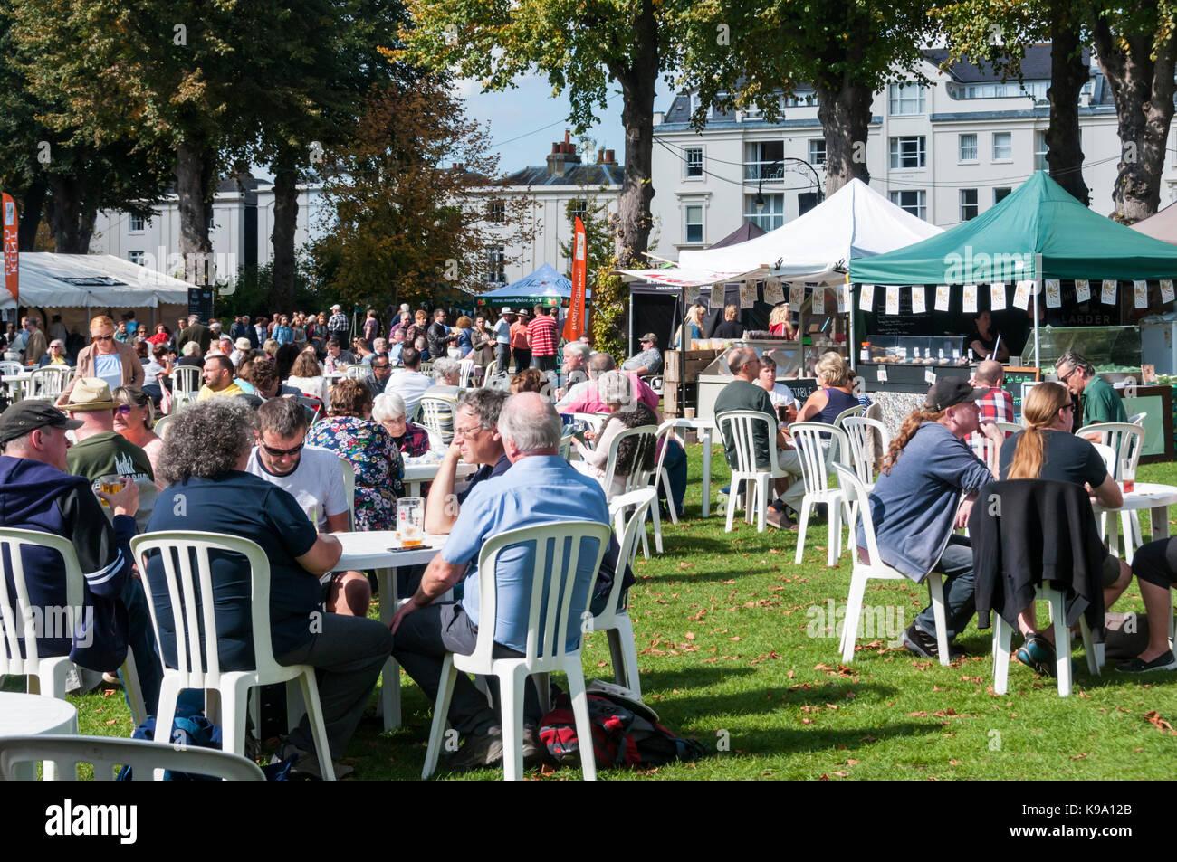 Canterbury Food Festival Stalls