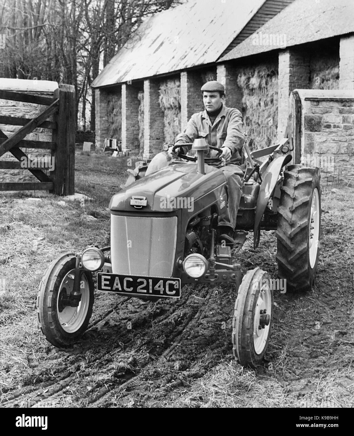 1965 BMC Mini tractor - Stock Image