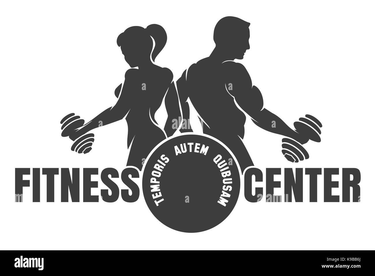 Bodybuilding Logo Stock Photos & Bodybuilding Logo Stock