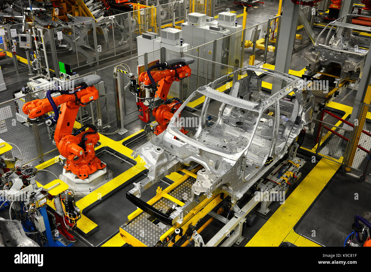 Car Factory Uk Stock Photos Amp Car Factory Uk Stock Images