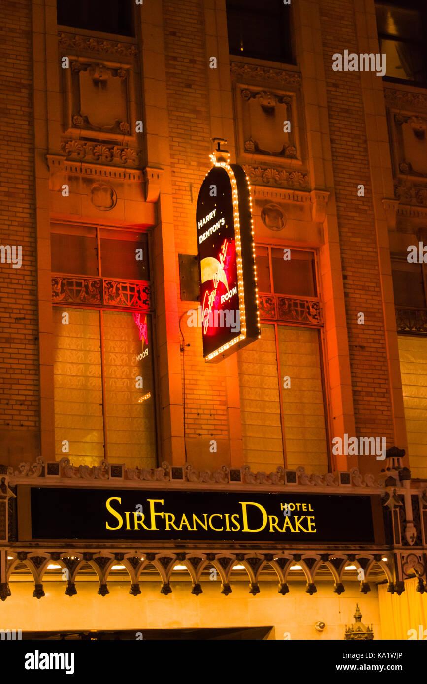 Sir Francis Drake Hotel Starlight Room