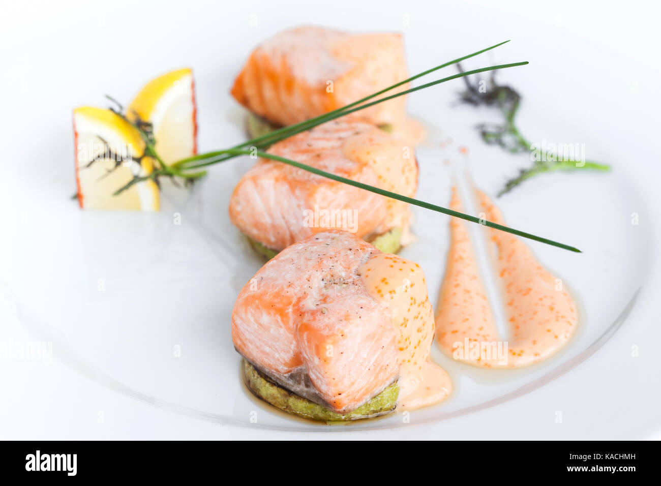 how to cook salmon slices
