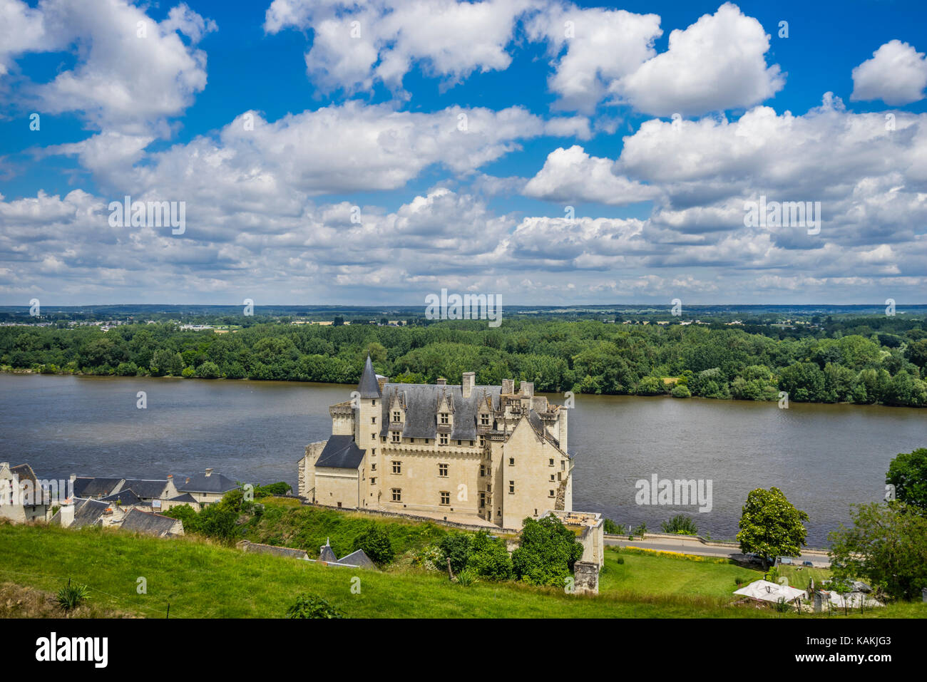 france maine et loire castle stock photos france maine et loire castle stock images alamy. Black Bedroom Furniture Sets. Home Design Ideas