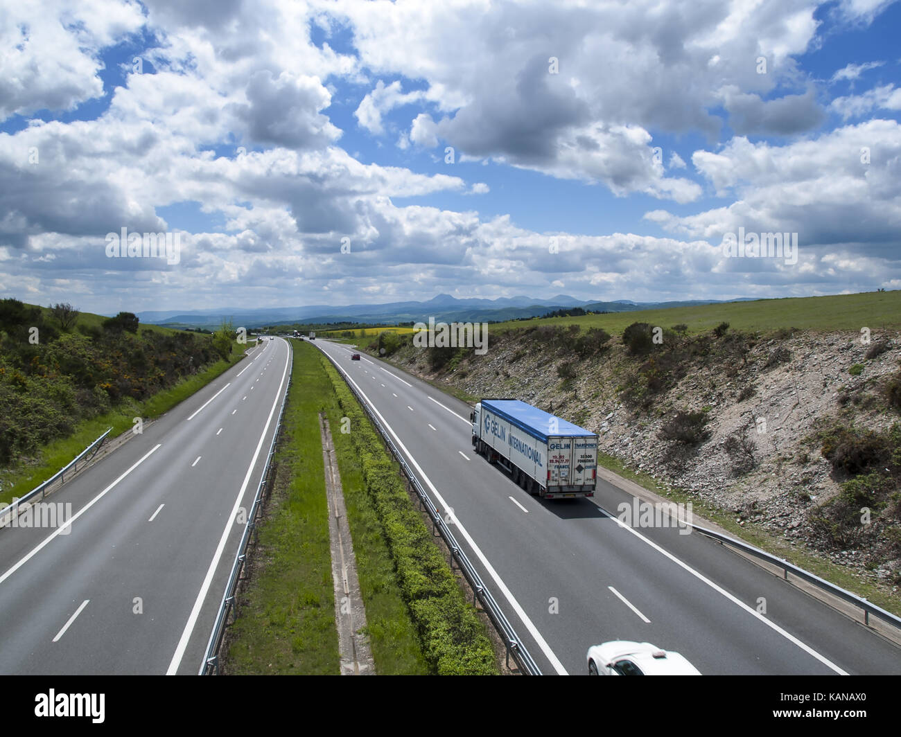 a75 road stock photos a75 road stock images alamy. Black Bedroom Furniture Sets. Home Design Ideas