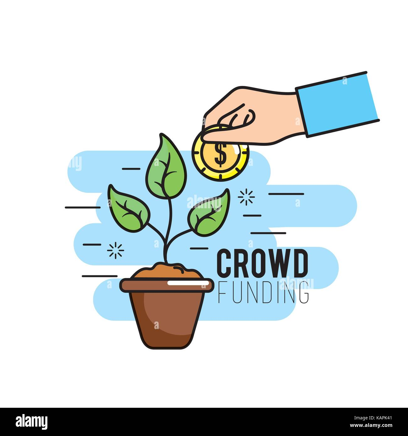 Crowdfunding project management