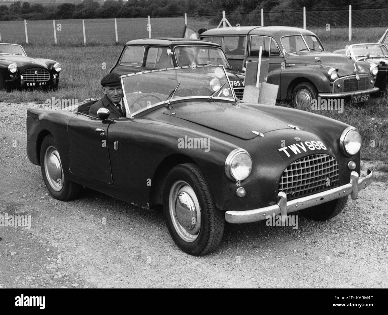 1959 Turner A35 Sports - Stock Image