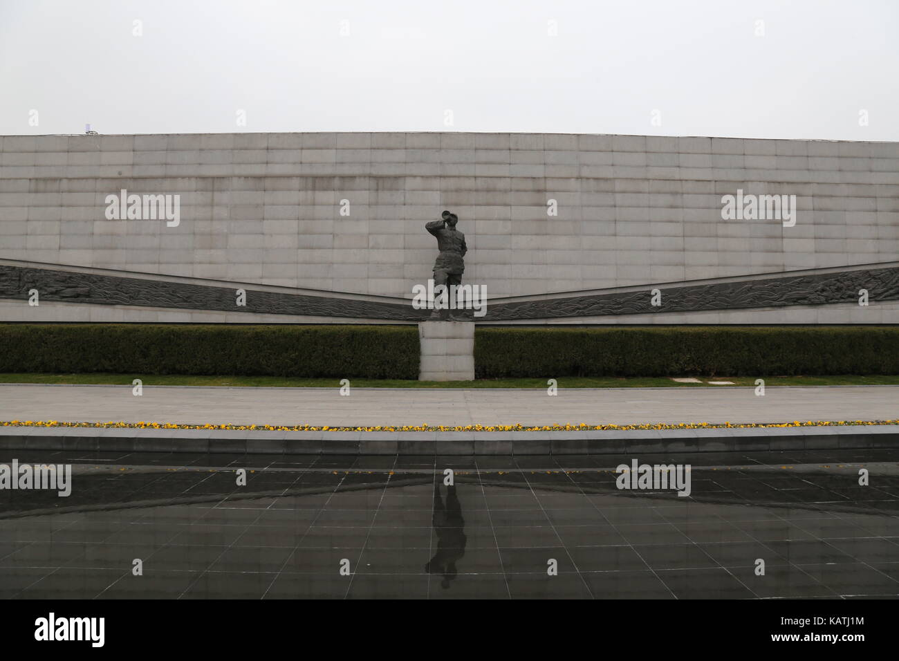 Nanjin, Nanjin, China. 27th Sep, 2017. Nanjing, CHINA-September 2017: (EDITORIAL USE ONLY. CHINA OUT).The Memorial - Stock Image