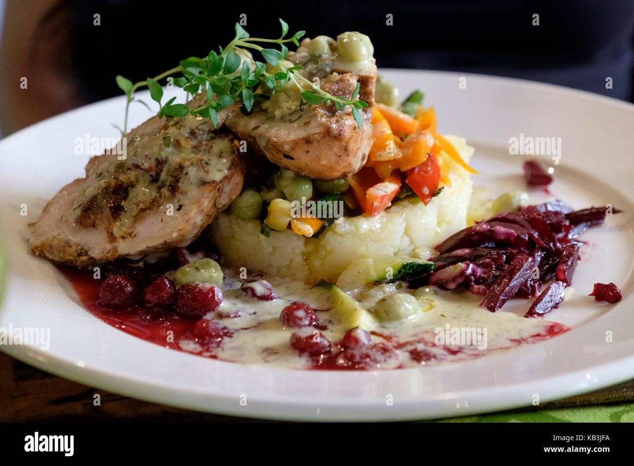 Haute cuisine plate stock photos haute cuisine plate for Haute cuisine