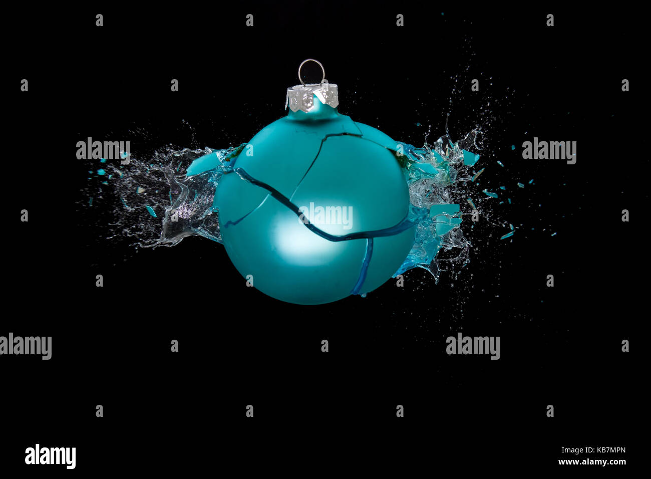 Broken Glass Ball Stock Photos & Broken Glass Ball Stock ...