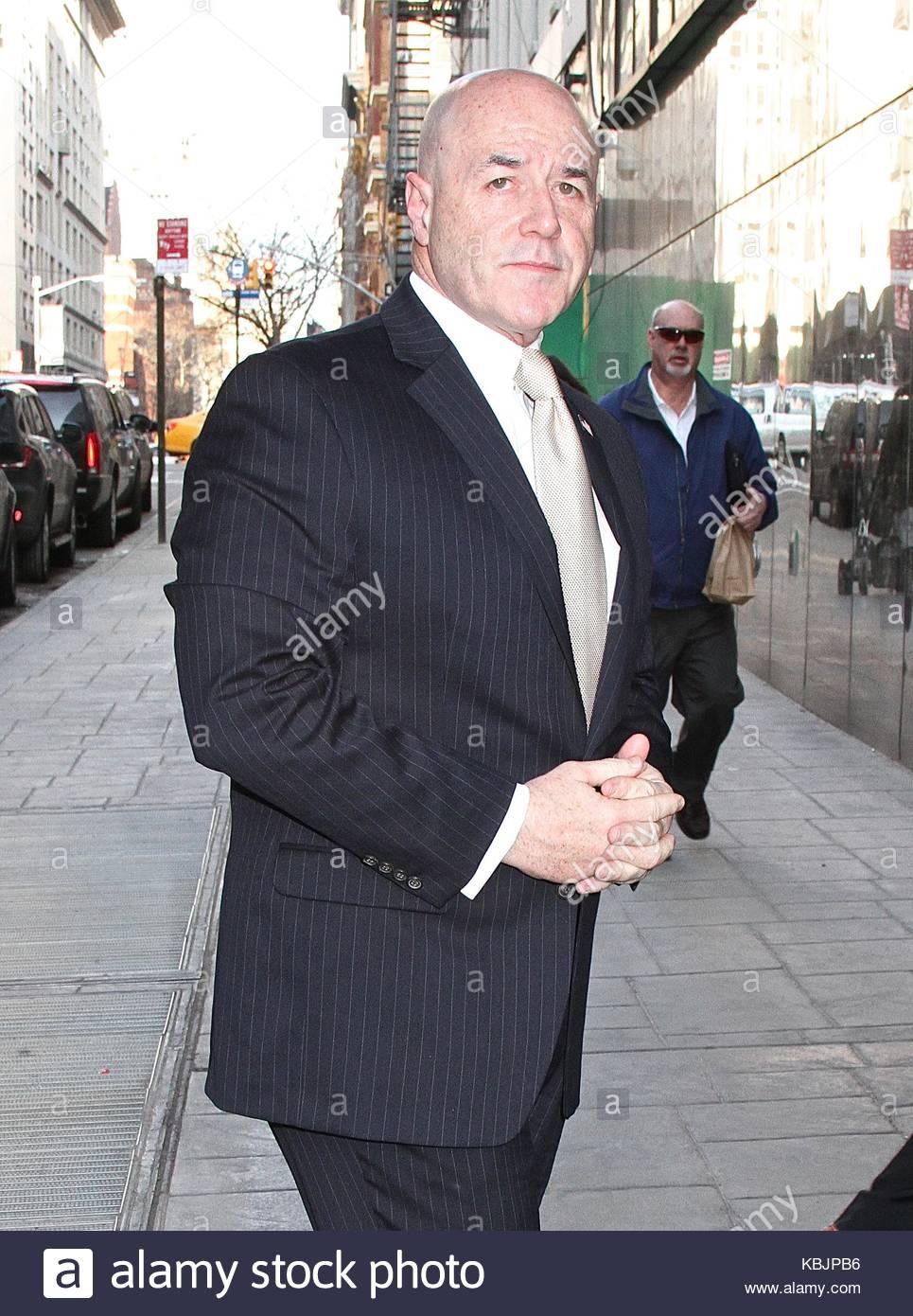 Bernard Kerik Former New York City Police Commissioner And Convicted Hala Matli