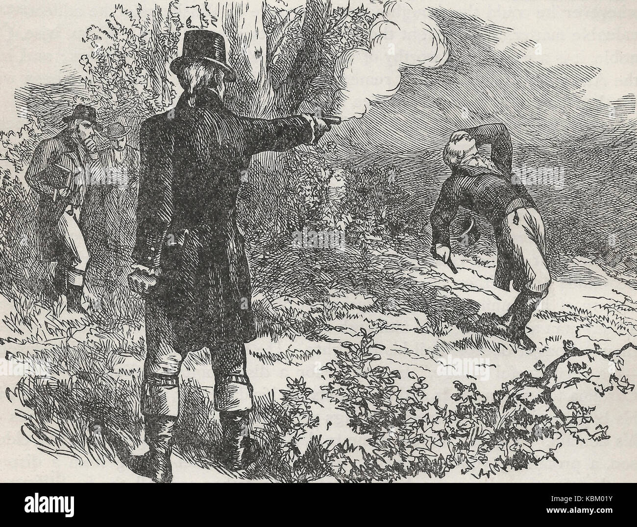 the duel between the alexander hamilton and aaron burr The duel between aaron burr and alexander hamilton has become legendary because of the identities of the men involved after all, this was a duel between a man who was (at the time of the duel) the vice president of the united states and another man who was widely seen as one of the most important figures of the revolutionary war and a.