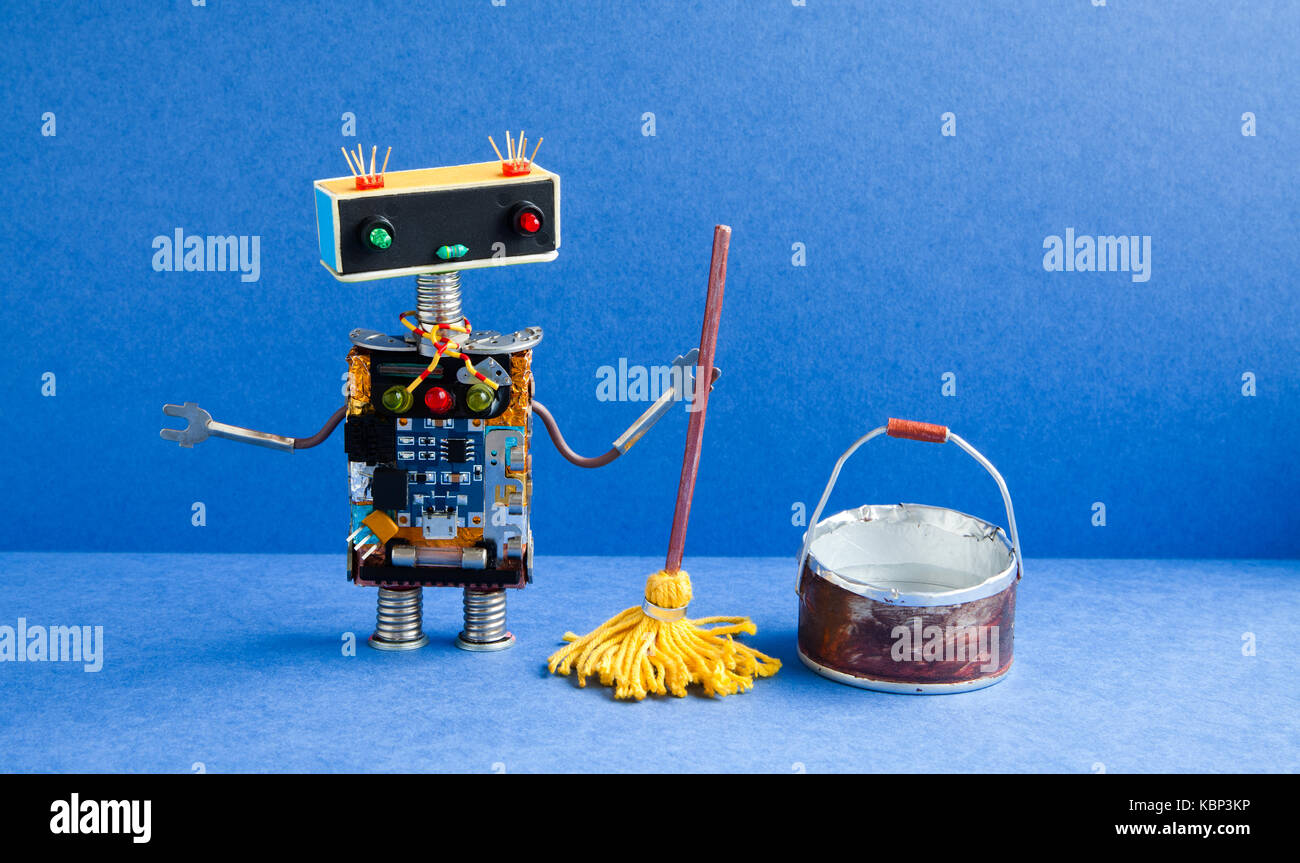 Cleaning Robot Stock Photos Amp Cleaning Robot Stock Images