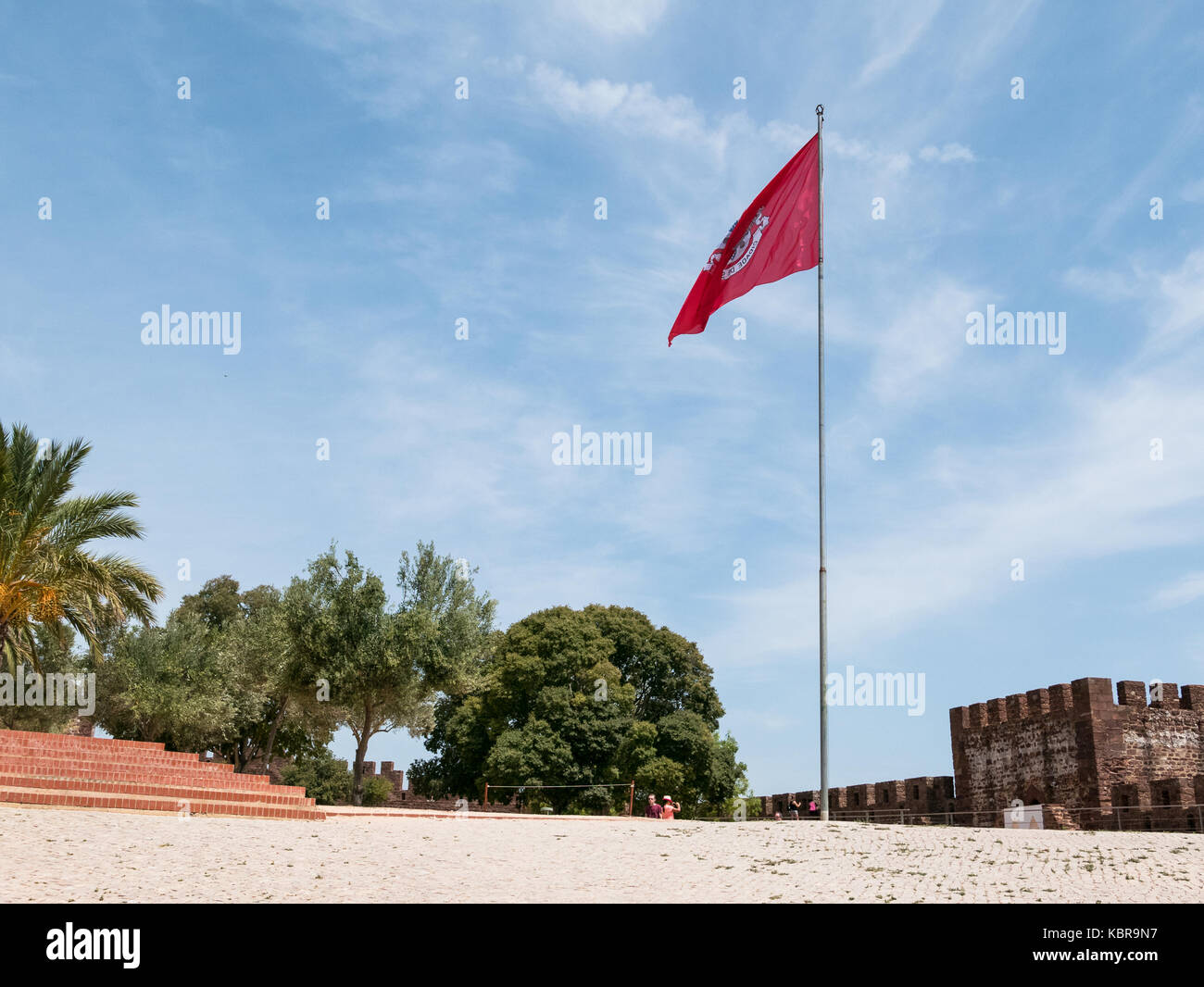 Silves Town i Algarve, Portugal - Stock Image