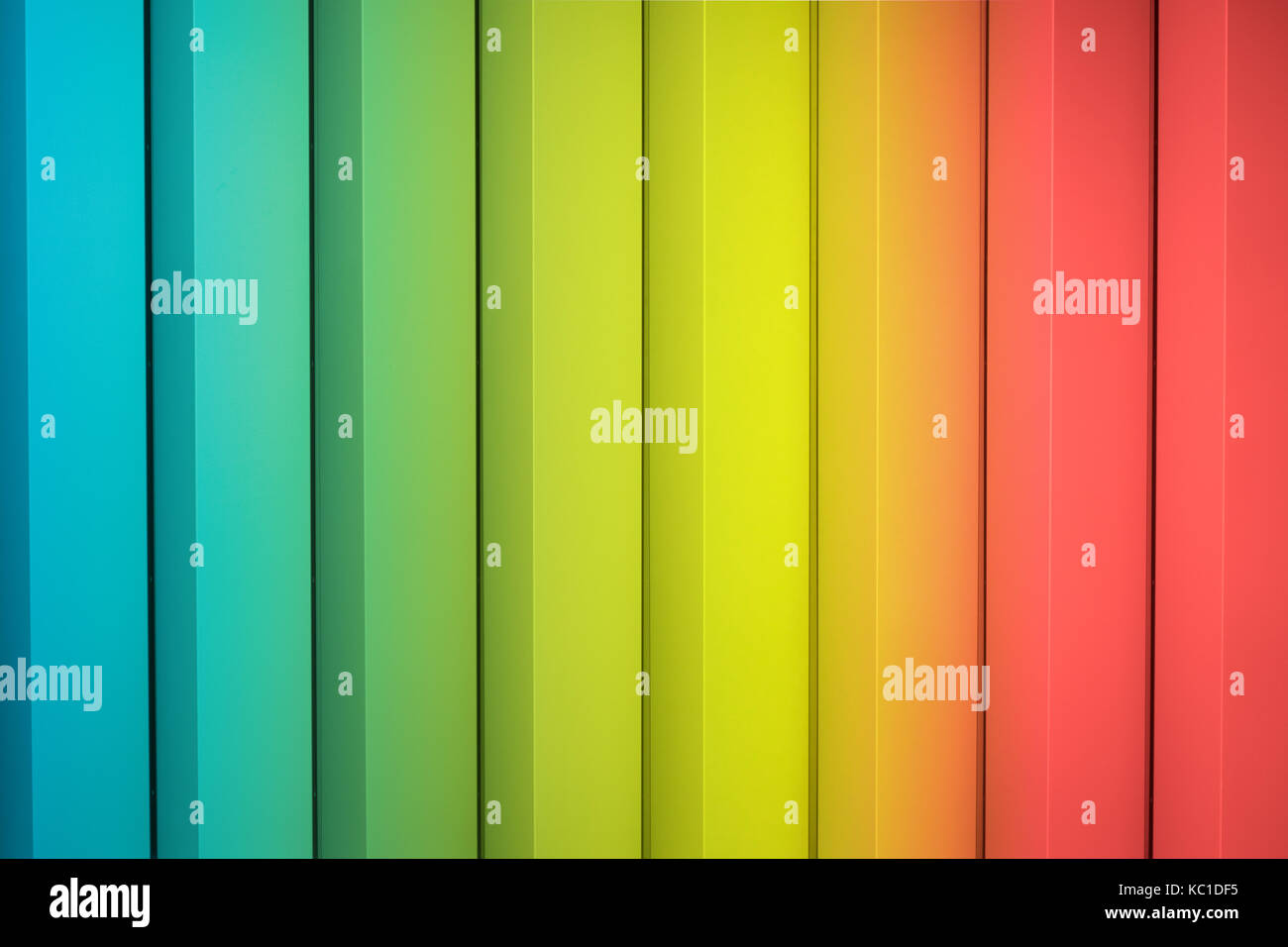 Rainbow striped stock photos rainbow striped stock images alamy for Rainbow color stripe watch