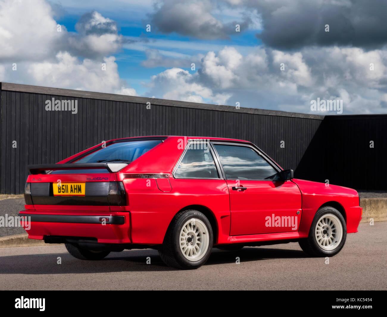 audi quattro rally car 1985 stock photos audi quattro. Black Bedroom Furniture Sets. Home Design Ideas