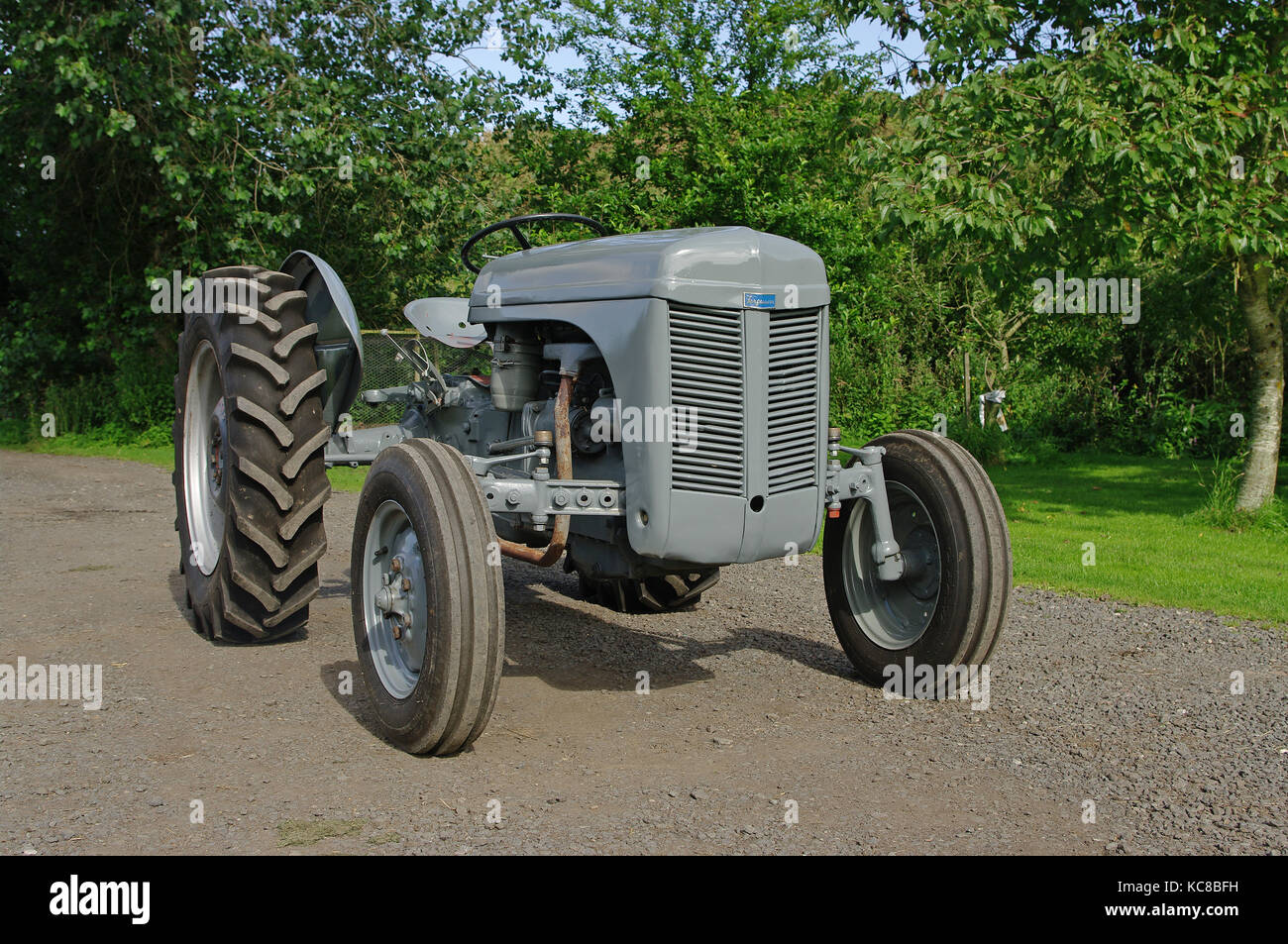 vintage grey ferguson tractor stock photos vintage grey. Black Bedroom Furniture Sets. Home Design Ideas