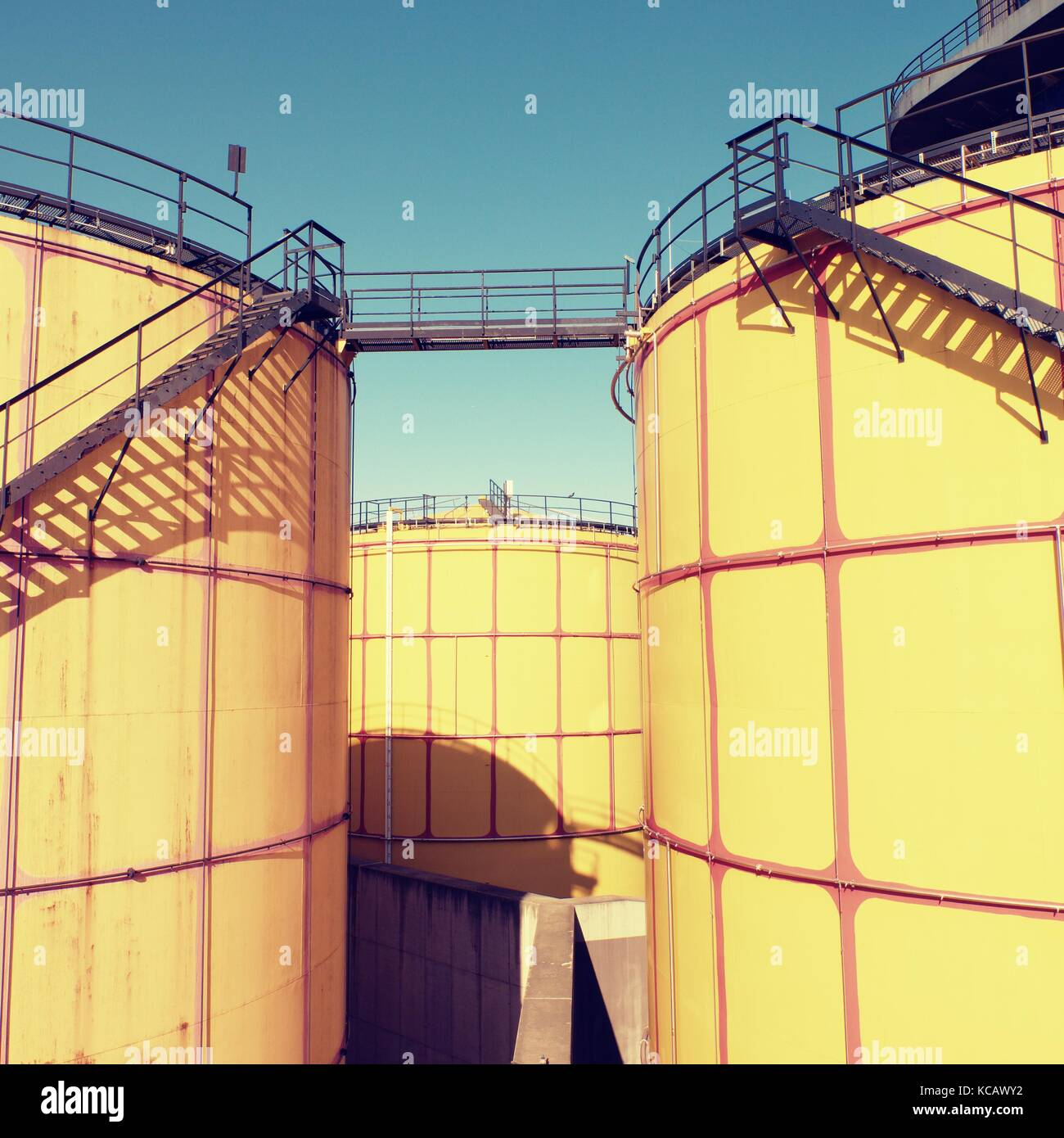 Storage Tanks In Oil Depot Fuel Stock Photos Amp Storage