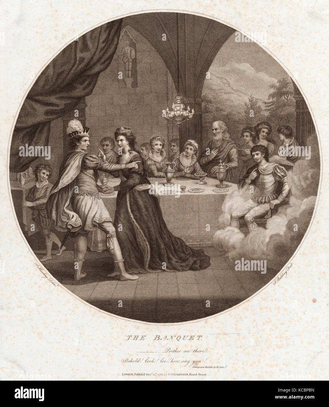 the banquet scene in macbeth by william shakespeare Teach the tragedy of macbeth by william shakespeare macbeth storyboard lesson plans include tragic hero macbeth holds a banquet and sees the ghost of banquo great castle scenes can be found in the 'historical' tab useful characters.