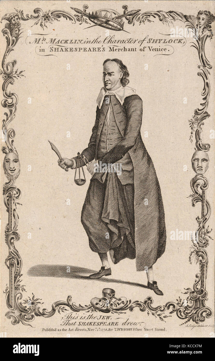 an analysis of shylock a character in william shakespeares play the merchant of venice Antisemitism in shakespeare's the merchant of venice  shylock was a dynamic character  shakespeare drew upon two sources for shylock the first was a play.