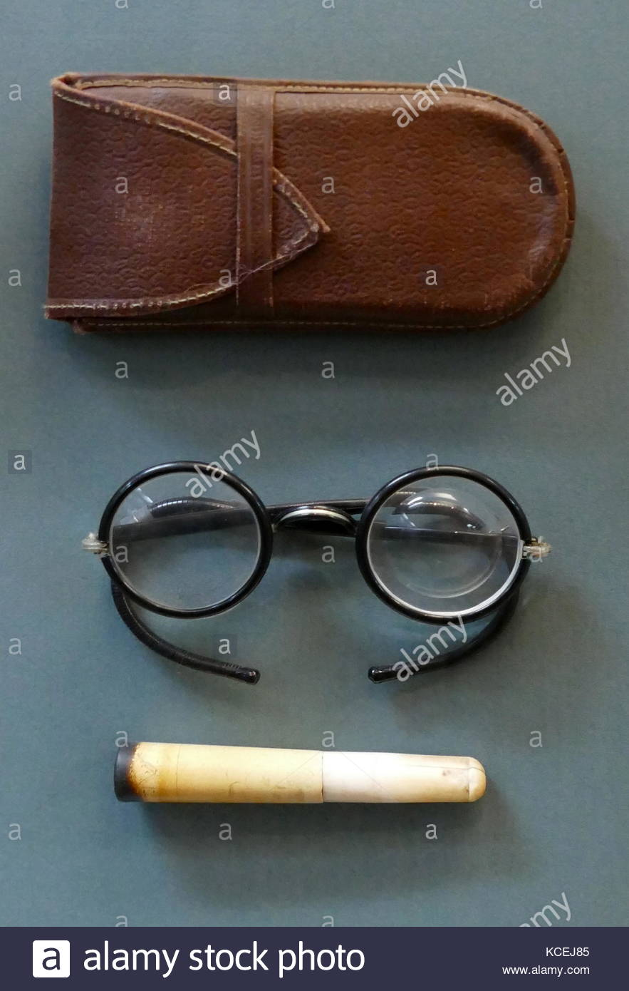 Clothes and personal belongings of the Chairman of the Supreme Soviet of the USSR Mikhail Kalinin. Mikhail Ivanovich - Stock Image